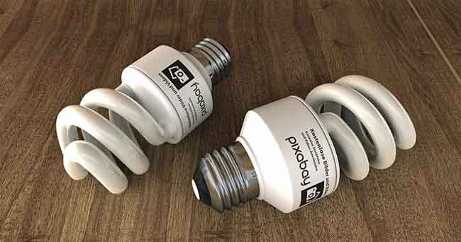 Dirty electricity from flourescent bulbs