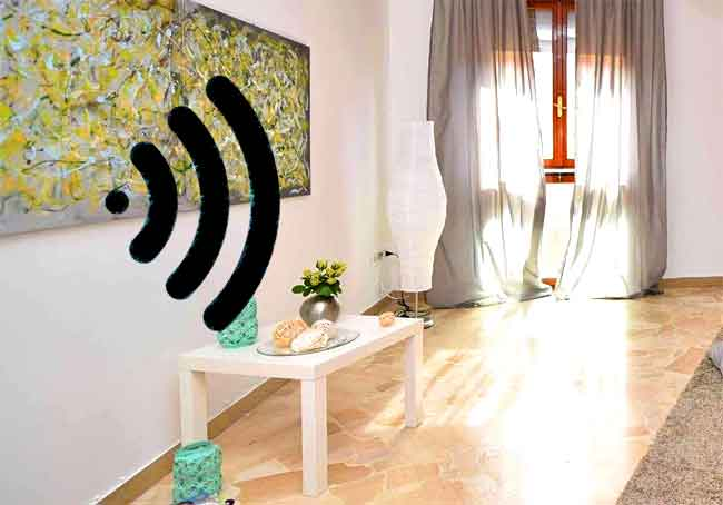 How wifi radiation is blocked in walls